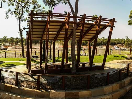 Best Feature - Commercial - Highly Commended - Ace Landscapes - Picnic Arbor, Central Park, Narangba