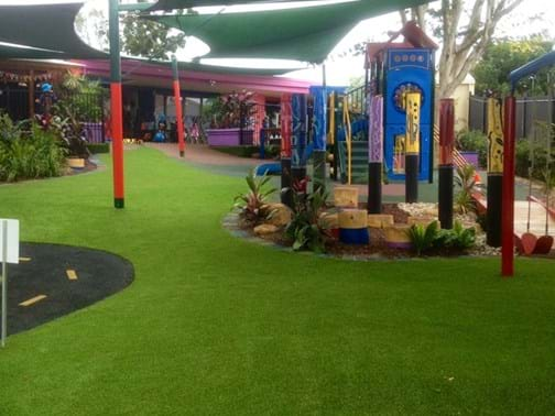 Commercial 1 Winner - Fig Tree Landscapes - Aspen Community Child Care Playground - Inala