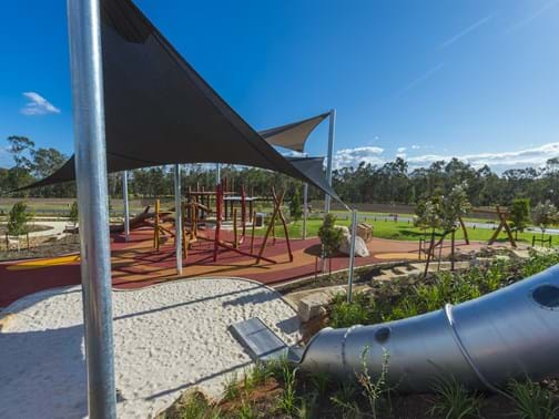 2016 Queensland Commercial Landscape Construction of the Year - Eureka Landscapes - Forest Green Park, Gainsborough Green, Pimpama -