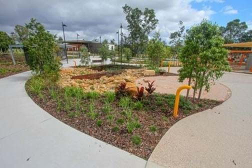 Qld Landscape Construction of the Year - Eureka Landscapes - Ken Fletcher Park - Tennyson