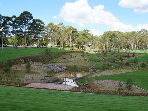 Environment & Sustainability - Highly Commended - Landscape Solutions (Qld) Garnet Lehmann Park, Toowoomba