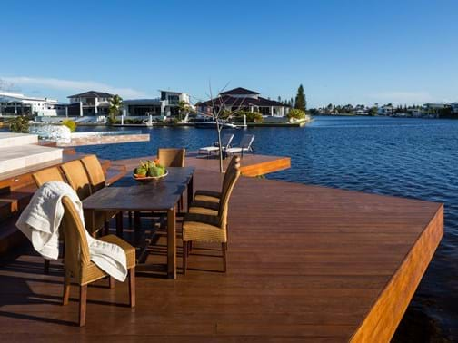 Best Landscape Feature Residential Winner - Living Style Landscapes - Pelican Waters