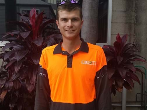 Apprentice of the Year Highly Commended - Phillip Taylor - Nominated & Employed by Dig-It Landscapes