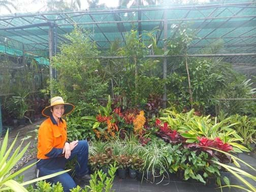 Trainee Award Winner - Rebecca Barrett - Nominated by Horticultural Training & employed by Mackay Regional Council
