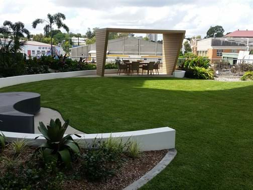 Maintenance Commercial Up to $100k Winner - The Landscape Construction Company - The Gardens, West End